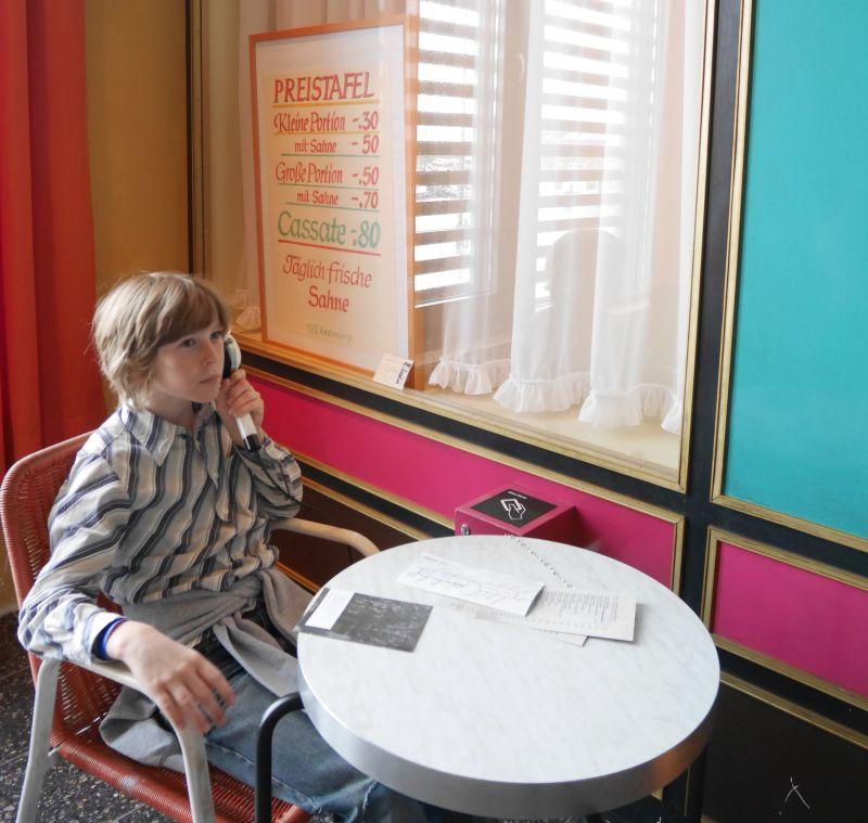 Mit Kindern ins Auswandererhaus Bremerhaven, Einwanderung Eisdiele