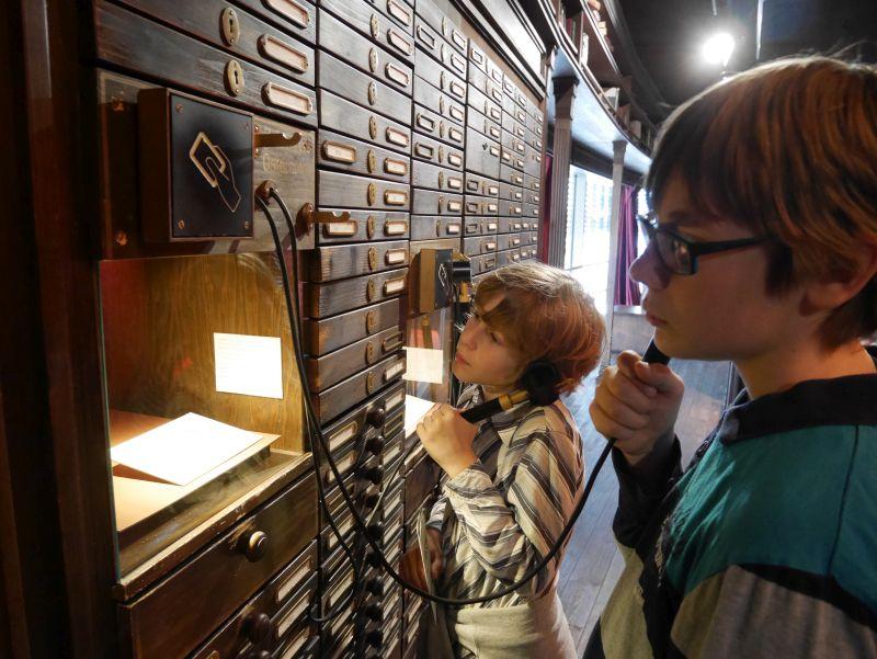 Mit Kindern ins Auswandererhaus Bremerhaven, Hörstation