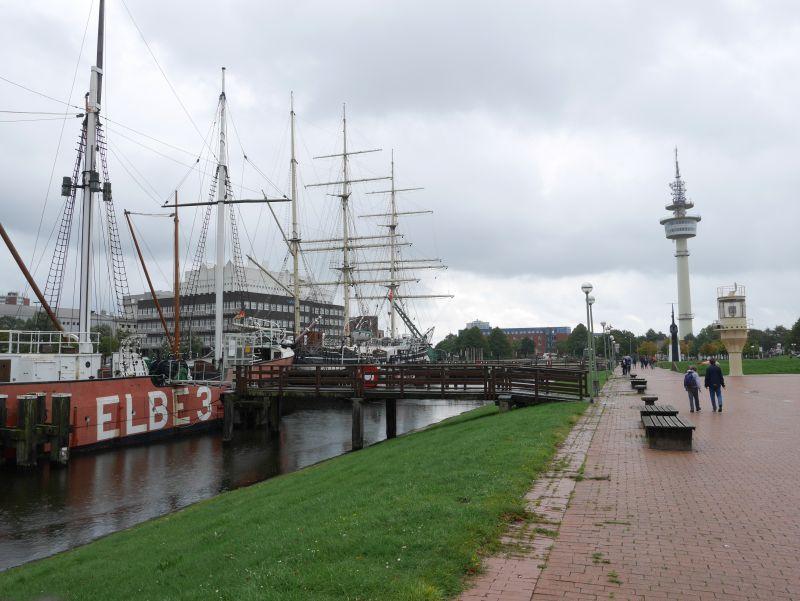 Bremerhaven mit Kindern, Alter Hafen