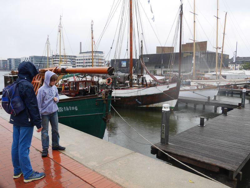 Bremerhaven mit Kindern bei Regen