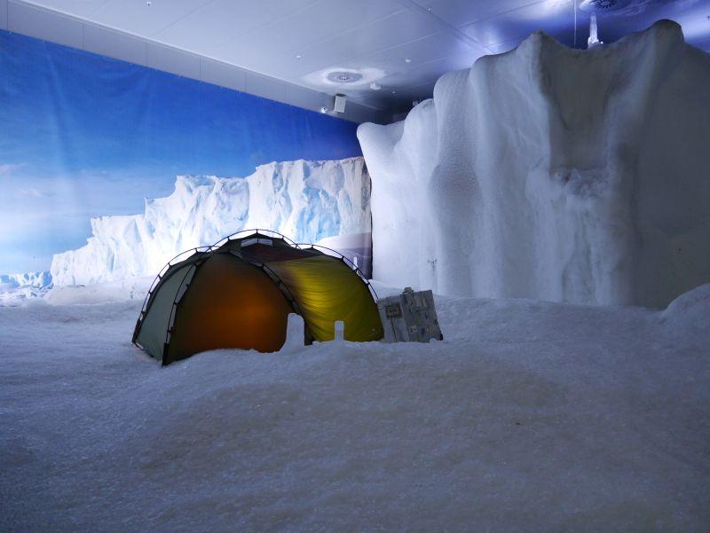 Klimahaus Bremerhaven mit Kindern, Antarktis