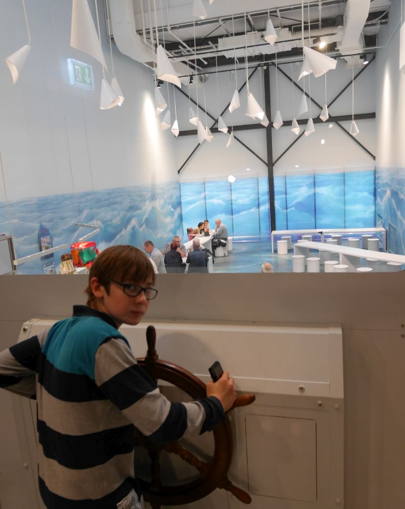 Klimahaus Bremerhaven mit Kindern, Café Südwärts