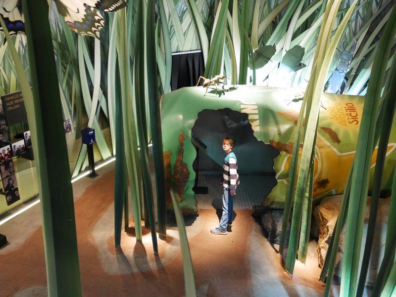 Klimahaus Bremerhaven mit Kindernm Sardinien