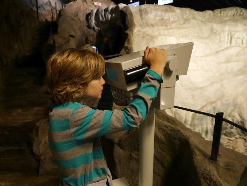 Klimahaus Bremerhaven mit Kindern, Schweiz