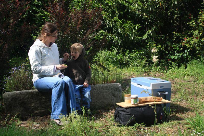 Roadtrip mit Kindern, Picknick