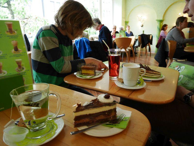Tagesausflug nach Thun mit Kind, Konditorei Steinmann