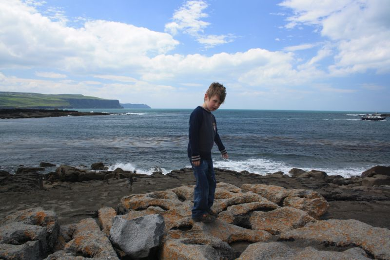 Roadtrip nach Irland mit Kindern, Cliffs of Moher