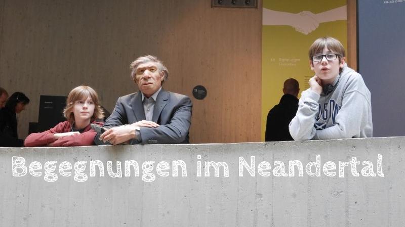 Neanderthal-Museum mit Kindern