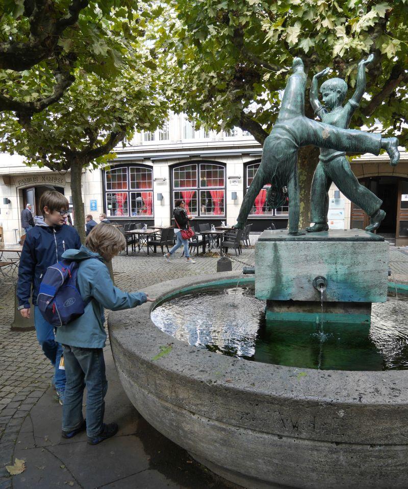 Düsseldorf mit Kindern, Radschlägerbrunnen