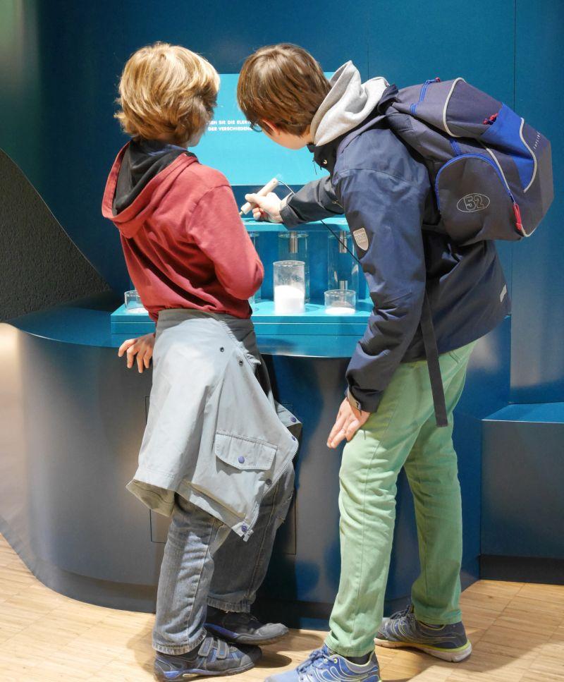Mitmach-Station Aquazoo Löbbecke Museum Düsseldorf mit Kindern