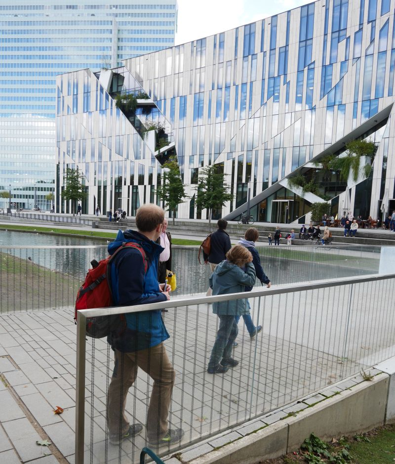 Düsseldorf mit Kindern, Stadtrallye Libeskind