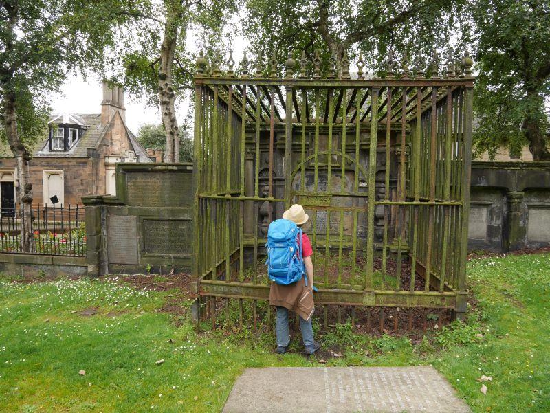 Tagesausflug nach Glasgow mit Kindern: Friedhof hinter der Kathedrale