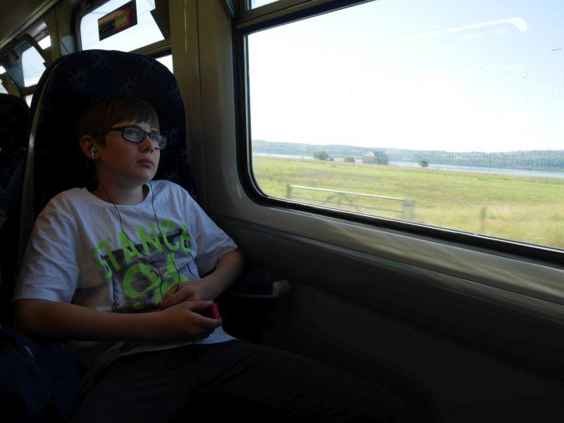 Tagesausflug nach Glasgow mit Kindern mit dem Zug