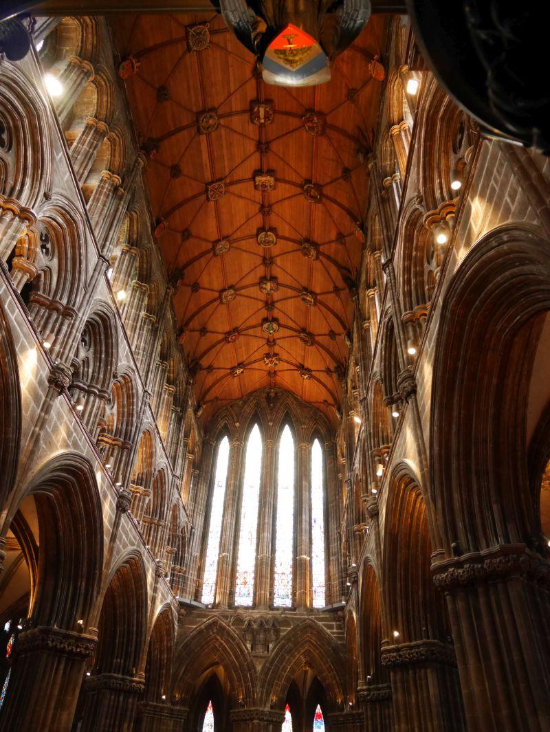 Tagesausflug nach Glasgow mit Kindern, Kathedrale von innen