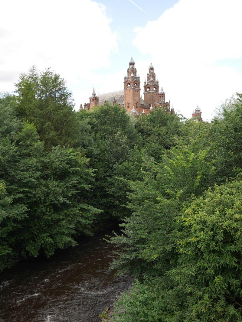 Tagesausflug nach Glasgow mit Kindern, Kelvingrove Museum und Park