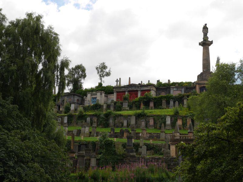 Tagesausflug nach Glasgow mit Kindern, Necropolis