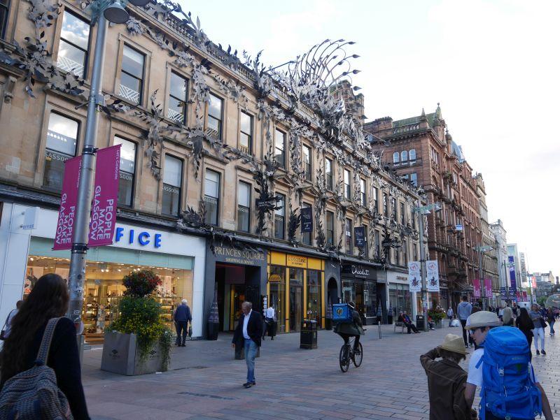 Tagesausflug nach Glasgow mit Kindern, Buchanan Street