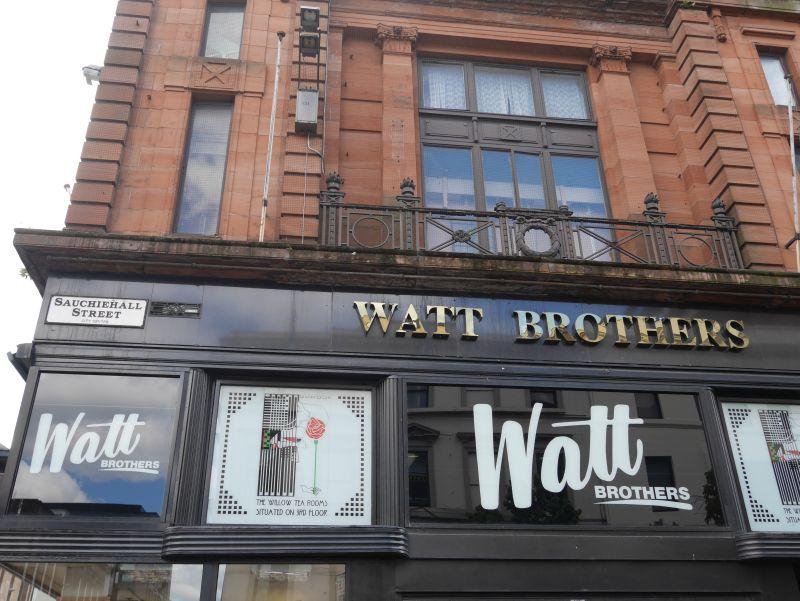 Tagesausflug nach Glasgow mit Kindern, Willow Tea Rooms Watt Brothers Sauchiehall Street
