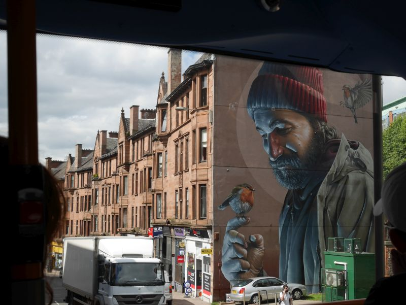 St. Mungo Mural in Glasgow