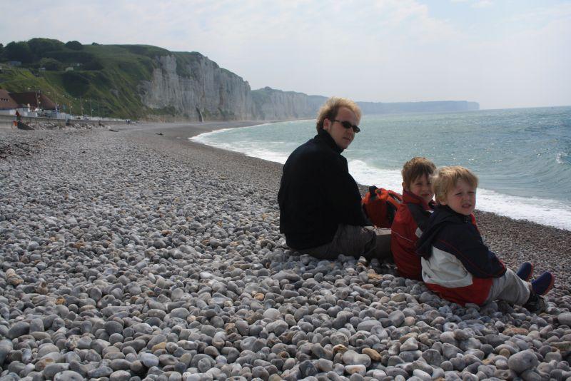 Fécamp, Frankreich, Roadtrip nach Irland mit Kindern