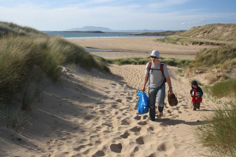 Roadtrip nach Irland mit Kindern, Sligo, Strand