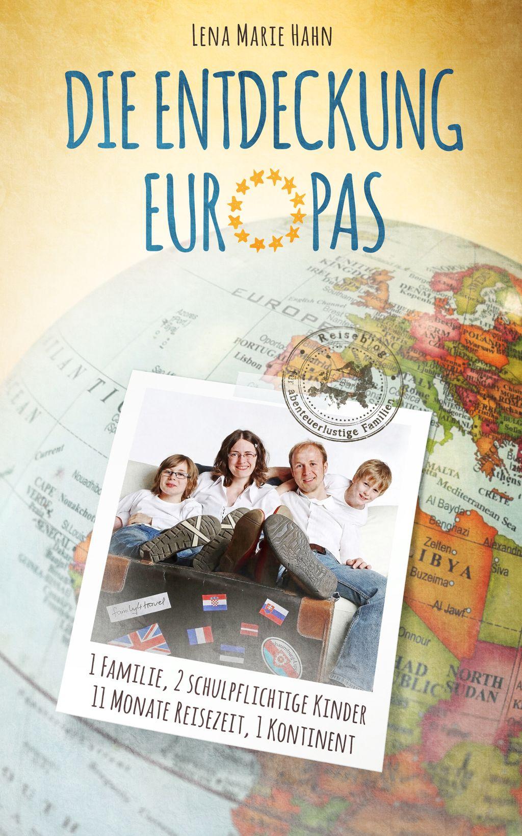 Cover Die Entdeckung Europas Lena Marie Hahn Buch