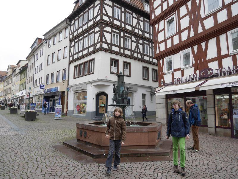 Fuldas Innenstadt.