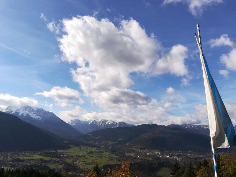 Berchtesgaden Windbeutelbaron Ausblick