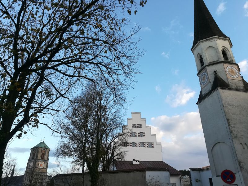 Hübsches Städtchen: Wasserburg.