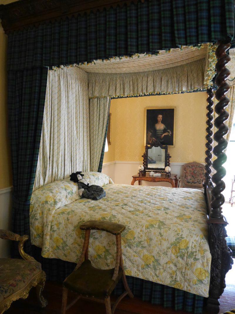 Inveraray Castle, Geister Spuk Bett