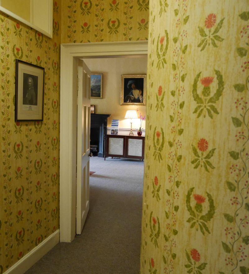 Inveraray Castle, Flur im Obergeschoss
