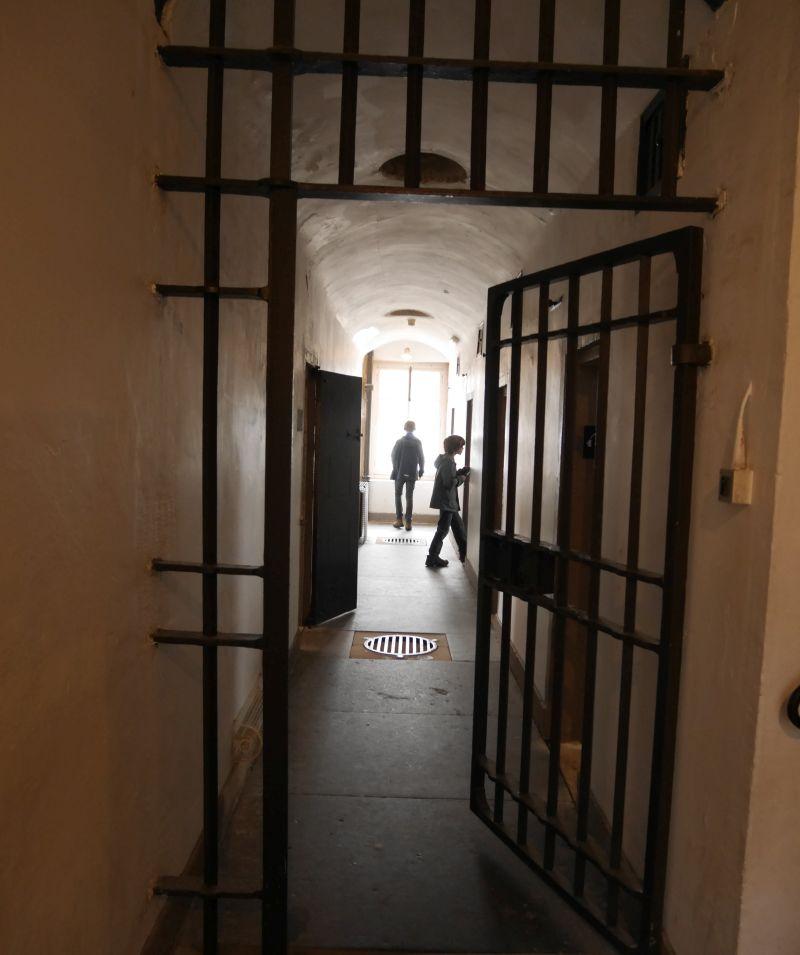 Inveraray Jail mit Kindern