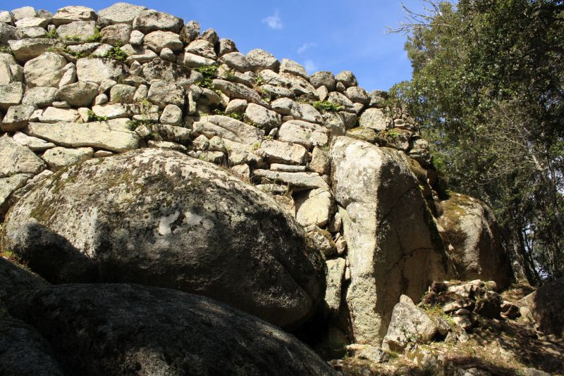 Mauerwerk Cucuruzzu, Korsika