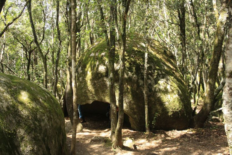 Steinhöhlen, Cucuruzzu, Korsika