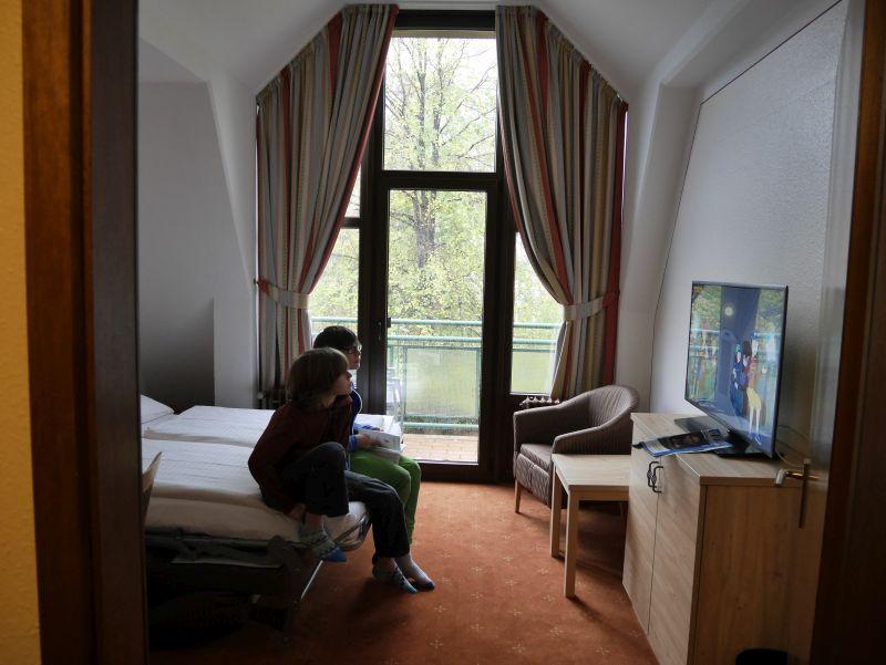Familienurlaub in Bad Reichenhall mit Kindern, Familienzimmer Amber Hotel Bavaria