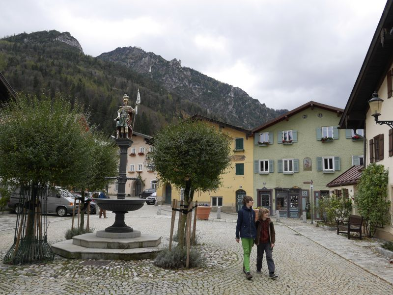Familienurlaub in Deutschland, Alpen, Berge, Bad Reichenhall mit Kindern