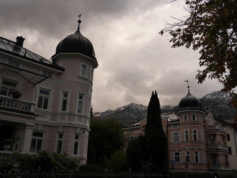 Bad Reichenhall Villen mit Alpenblick