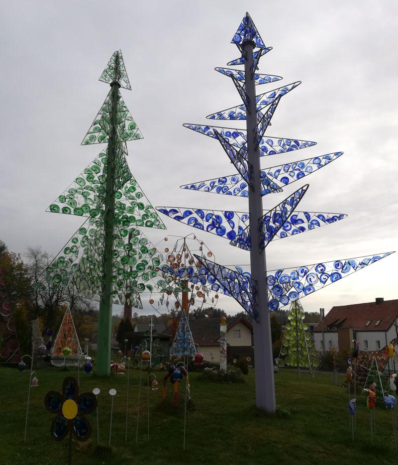 Wald-Glas-Garten Glasscherben Köck Riedlhütte
