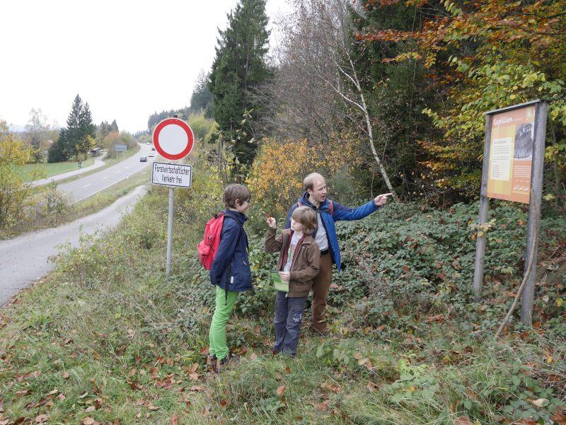 Familienurlaub im Bayerischen Wald, Wandern auf dem Amphibienpfad Langdorf