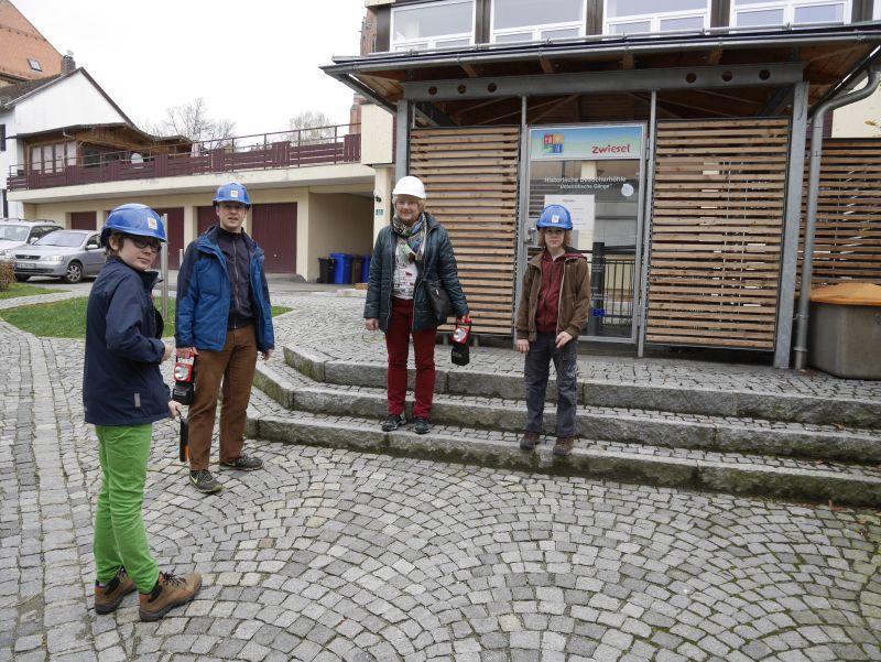 Familienurlaub im Bayerischen Wald, Zwiesel, unterirdische Gänge