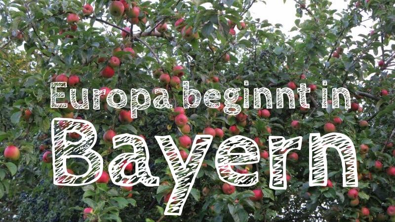 Die Entdeckung Europas, Lena Marie Hahn, Europa beginnt in Bayern