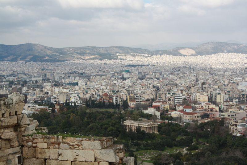 Hephaistos-Tempel Athen, Griechenland Bildungsreise mit Kindern