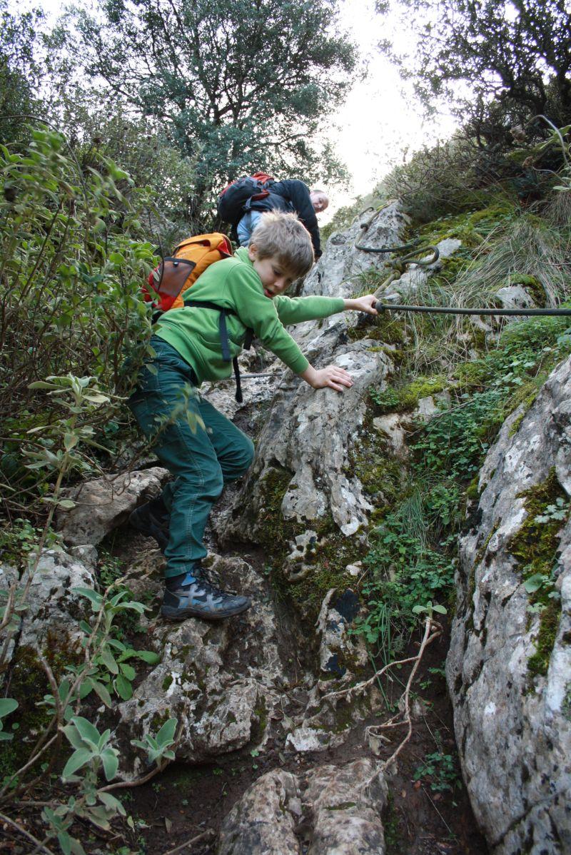 Olymp, Griechenland, Wandern mit Kindern