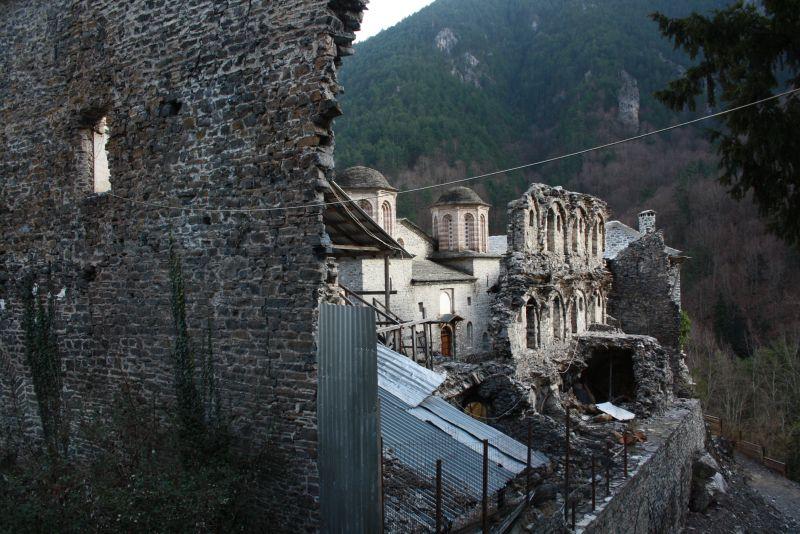 Olymp, Griechenland, Kloster