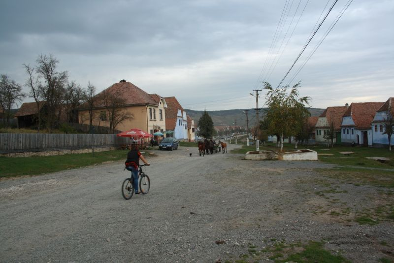 Rumänien Transsilvanien Deutsch-Weißkirch, Dorf Viscri