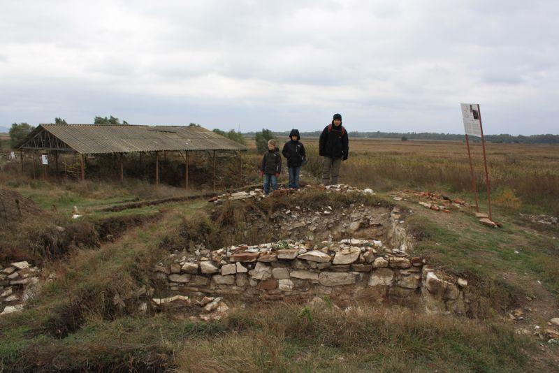 Ausgrabung Halmyris Donaudelta Rumänien