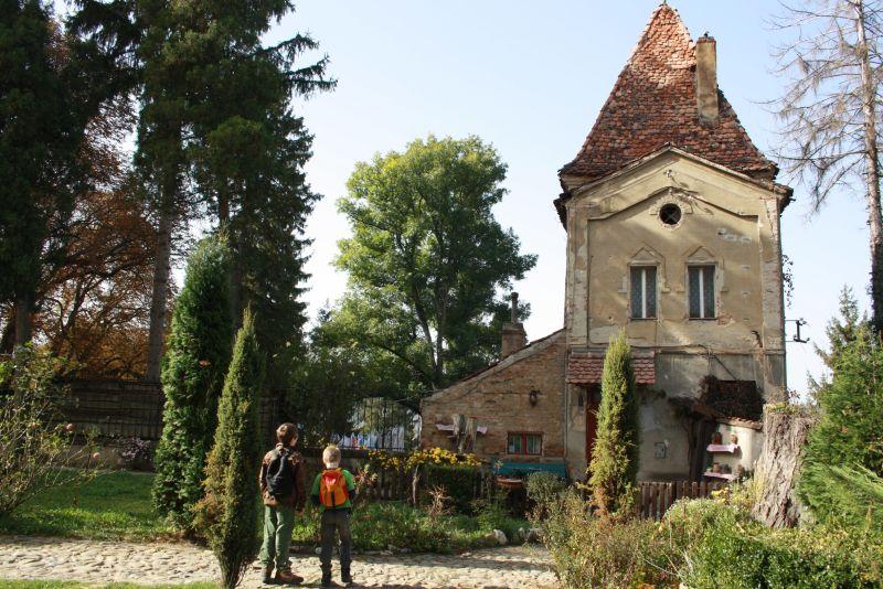 Rumänien Sighisoara Haus