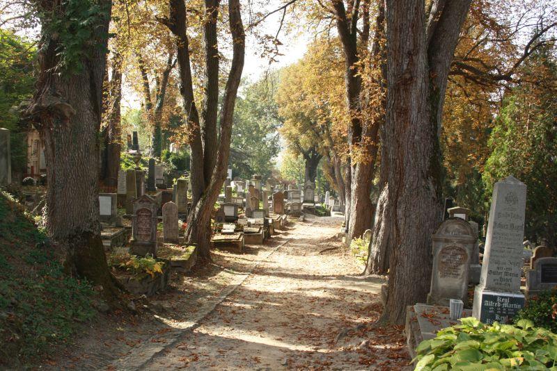 Rumänien Sighisoara Friedhof
