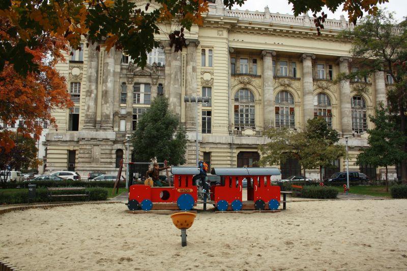 Ungarn, Budapest, Spielplatz