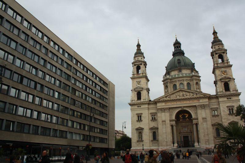 Ungarn, Budapest, Stefansdom, hässlich